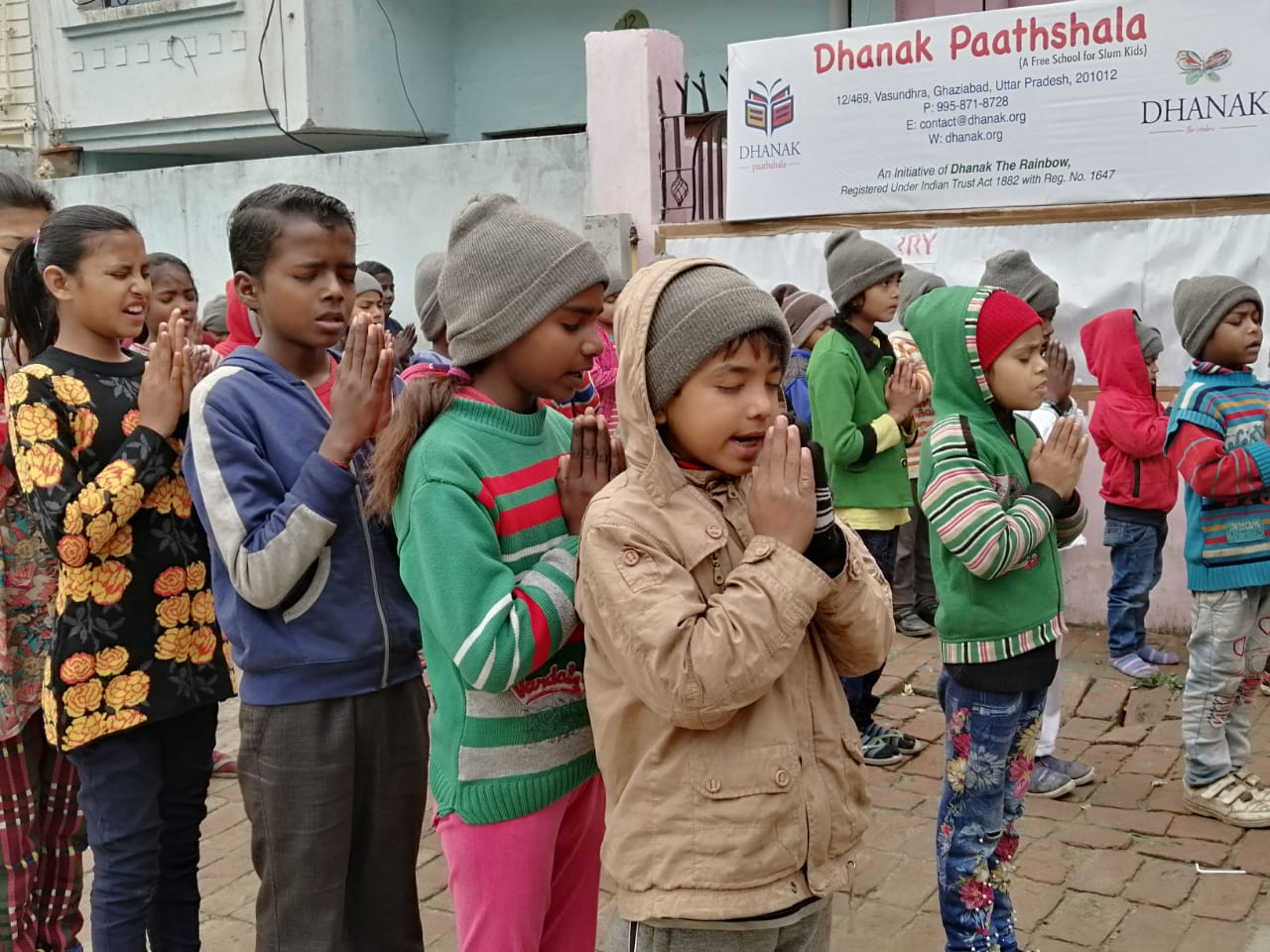 Dhanak Paathshala - Assembly Time